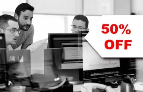 50% OFF Administrador de Redes
