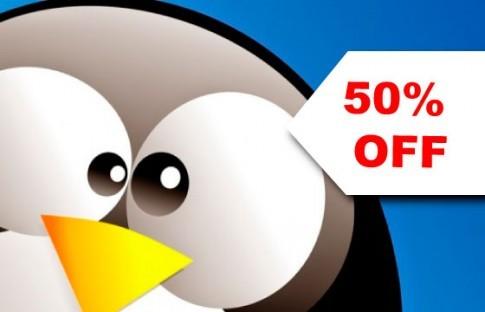 50% OFF Curso de Fundamentos em Administração de Sistemas Linux