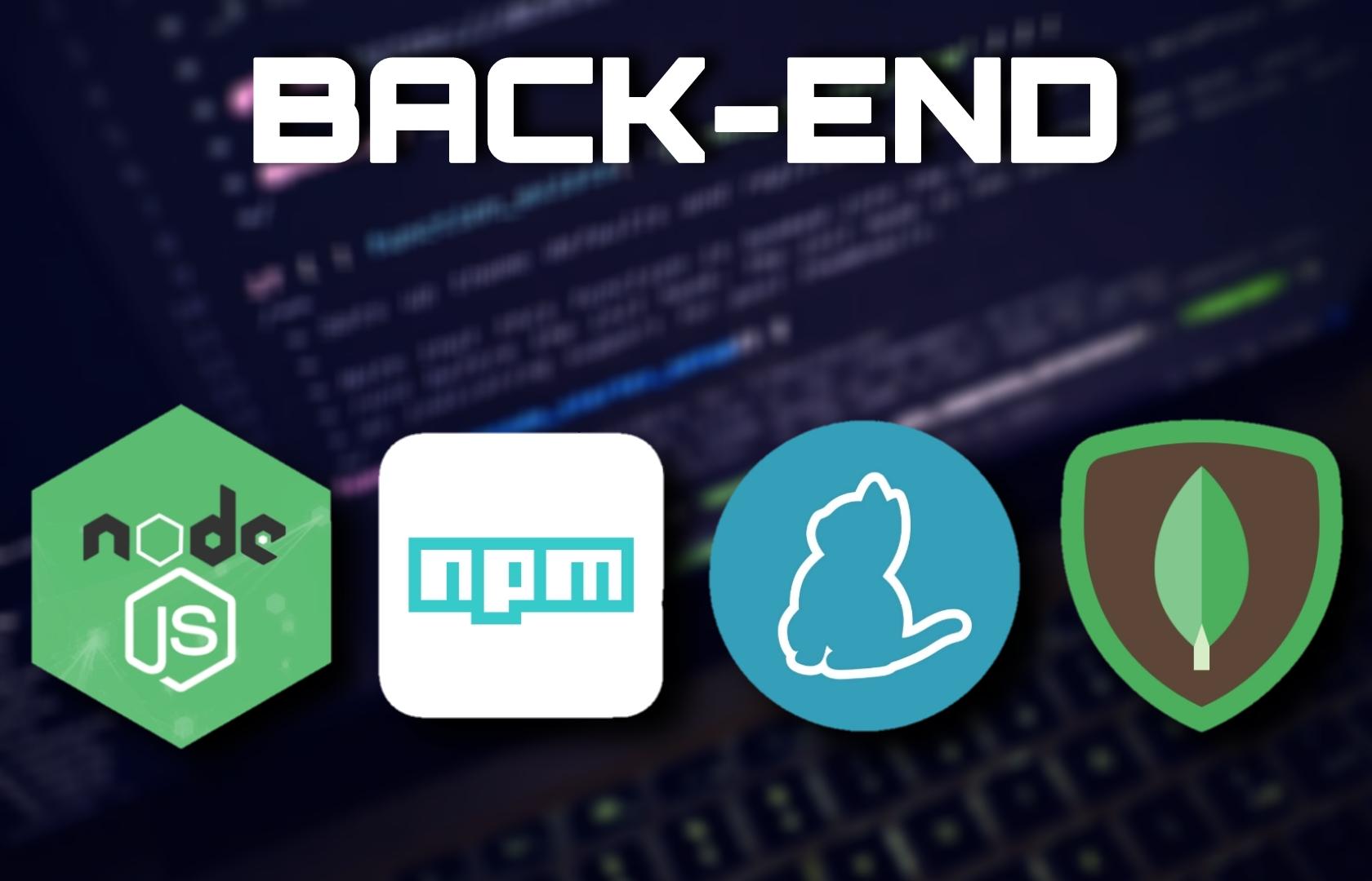 Desenvolvimento Back-End com Node.js, npm, Yarn e MongoDB
